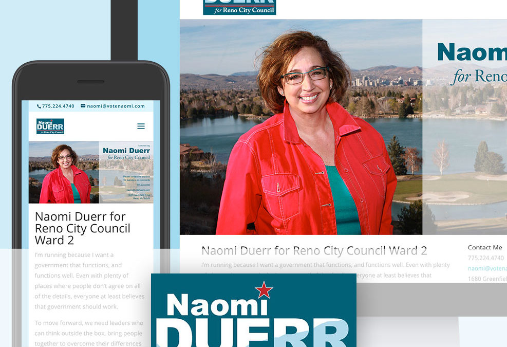 Naomi Duerr Campaign