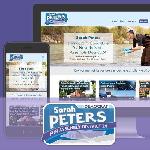 Sarah Peters Campaign